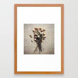 Spent Framed Art Print