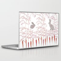 rabbits Laptop & iPad Skins featuring Rabbits by Fay's Studio