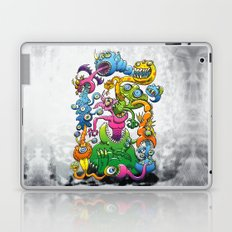 Monstrously Messy Laptop & iPad Skin