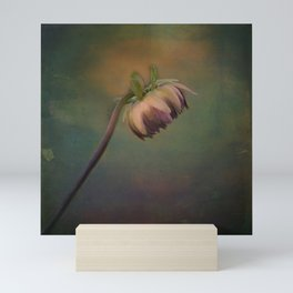 Once Upon a time a lonely flower Mini Art Print