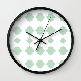 Minty_Geo_Love_ Wall Clock