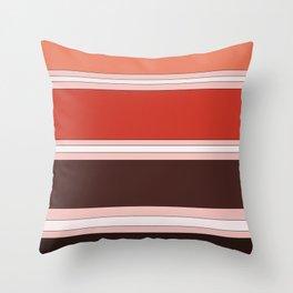 Orange-cicle Throw Pillow
