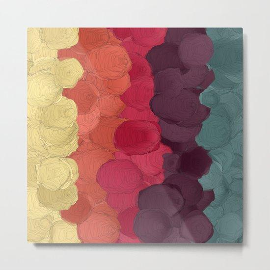 Paper Flowers In Bloom #3 Metal Print
