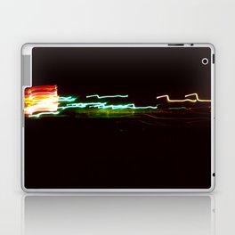 Night Lights Santa Monica Holiday Inn Laptop & iPad Skin