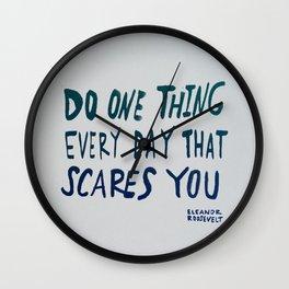 Eleanor Roosevelt Wall Clock