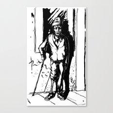 O Super Mendigo Canvas Print