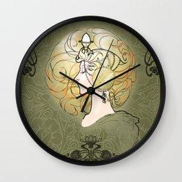 """Leben"" (life) Wall Clock"