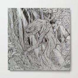 Forest Spirits Metal Print