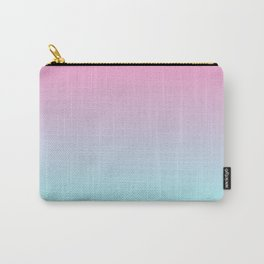 Rose Quartz and Aquamarine Carry-All Pouch