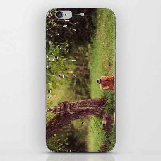 Polaroid Tree iPhone & iPod Skin