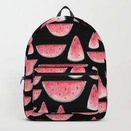 Watermelon is always a good idea. Black edition. Backpack