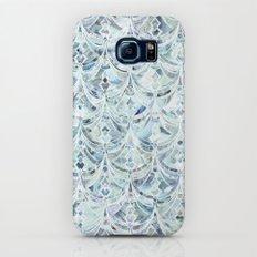 Ice and Diamonds Art Deco Pattern Slim Case Galaxy S6