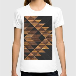 Urban Tribal Pattern 11 - Aztec - Wood T-shirt