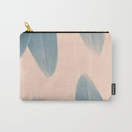 Blush Banana Leaves Summer #2 #tropical #decor #art #society6 Carry-All Pouch