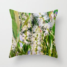 Bottlebrush Serenity Throw Pillow