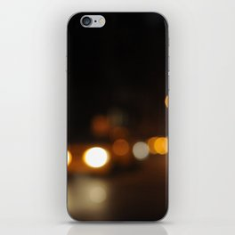 new york city never always changes iPhone Skin