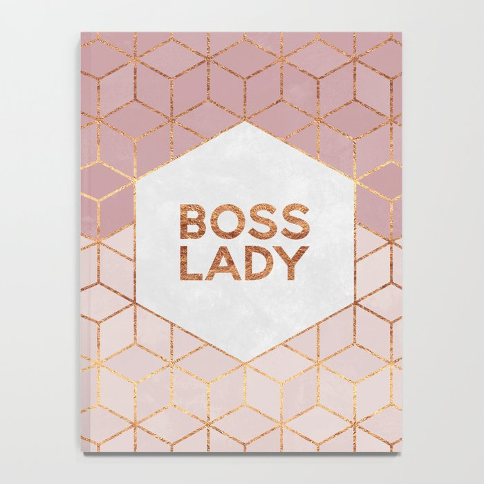 Boss Lady / 2 Notebook