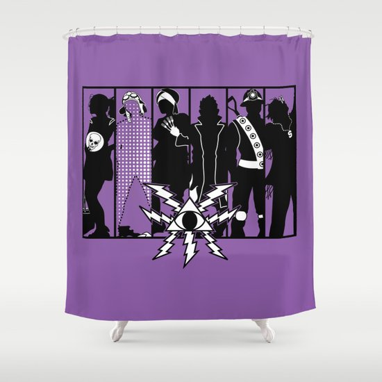 Mystery Men - The Other Guys Shower Curtain