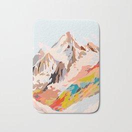 glass mountains Bath Mat
