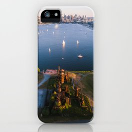 Gas Works and Lake Union iPhone Case