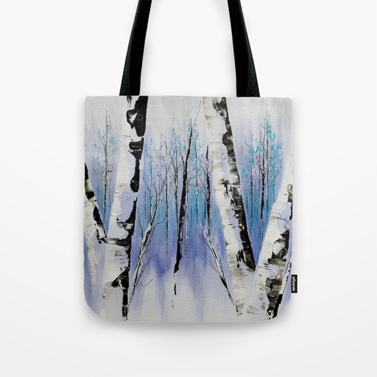Shadowy Forest Tote Bag