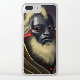 Elder Clear iPhone Case