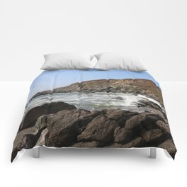 Bodega Bay Beach, Sonoma County, California Comforters