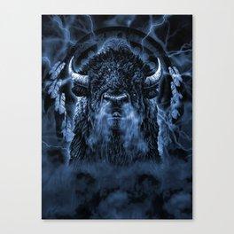 SPIRIT BUFFALO Canvas Print