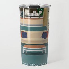 Lucy and Ricky in Hollywood Travel Mug