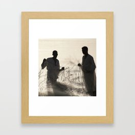 Nubian Fishermen Framed Art Print