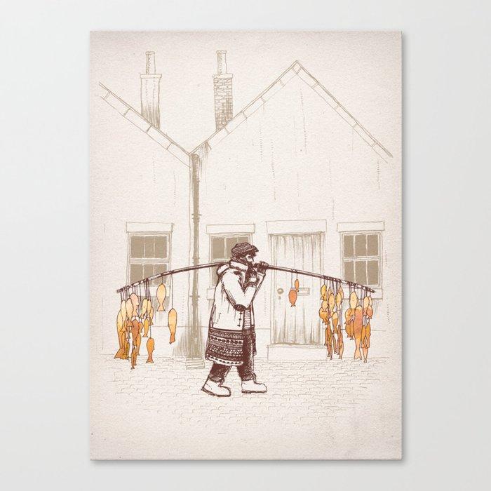 Peter Canvas Print