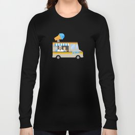 Breaking tradition - Walt and Jesse make ice cream Long Sleeve T-shirt