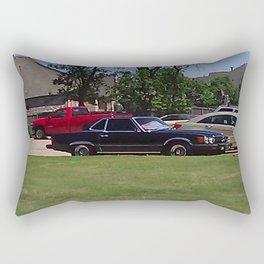 Benz Around Rectangular Pillow