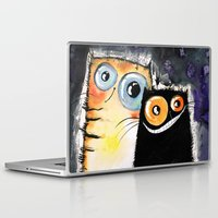friendship Laptop & iPad Skins featuring friendship by Katja Main
