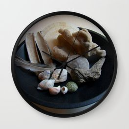 Beach Curiosity Collection Display Wall Clock