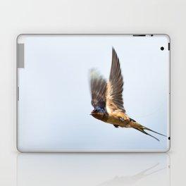 Male barn swallow in flight Laptop & iPad Skin