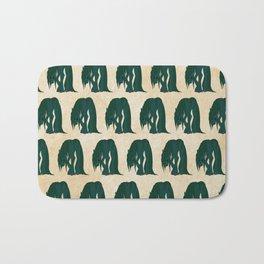 Kelpie Pattern Bath Mat