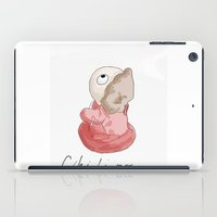 "ponyo iPad Cases featuring Small Ponyo ""Chi-bi-po"" by Masaki IINUMA"