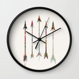 5 Arrows Wall Clock
