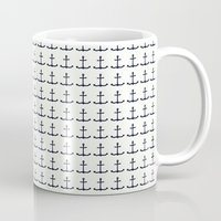 anchors Mugs featuring anchors by Kirk and Wood