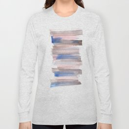 Blue Watercolor Background | Frozen Summer Series 171 Long Sleeve T-shirt