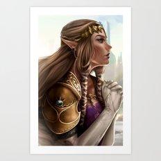Zelda: Twilight Princess Art Print