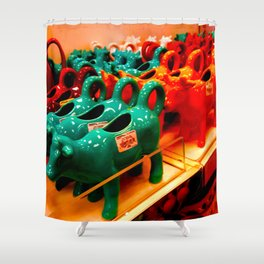 Can't A-Cow-nt For Bad Ideas Shower Curtain