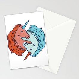 Fantasy Unicorn Dabbing T Shirt Gift Kids Girls Boys Womens Stationery Cards