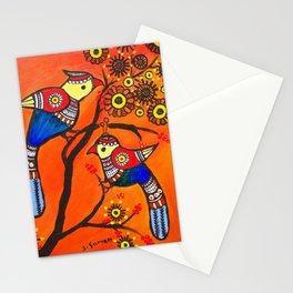 Bird Pair Stationery Cards