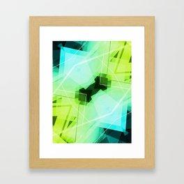Revive - Geometric Abstract Art Framed Art Print