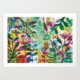 Bloom like a Flower Art Print