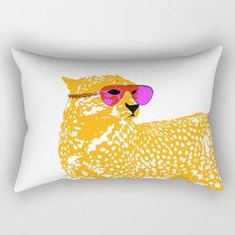 Mighty Cheetah Art Rectangular Pillow