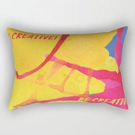 Be creative Rectangular Pillow