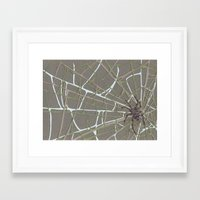 spider Framed Art Prints featuring Spider  by Aiko Tagawa
